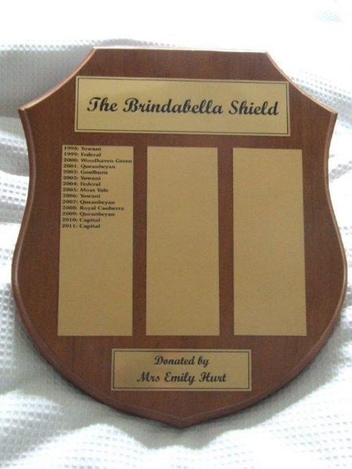 2019 Brindabella Shield